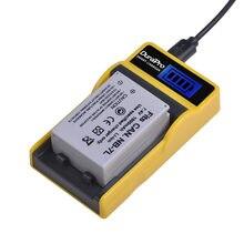 DuraPro – batterie Li-ion 1800mAh NB7L NB 7L, avec chargeur LCD USB, pour appareils photo numériques Canon PowerShot G10 G11 G12 SX30 SX30IS