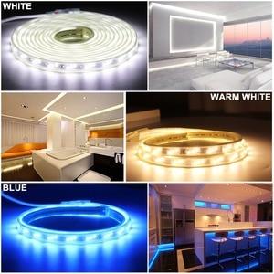 Image 5 - LED רצועת אור 220 v עם RF מרחוק בקרת Dimmable סרט 2835 SMD IP67 Waterproof Ledstrip 220 v דיודה קלטת led בנדה JQ