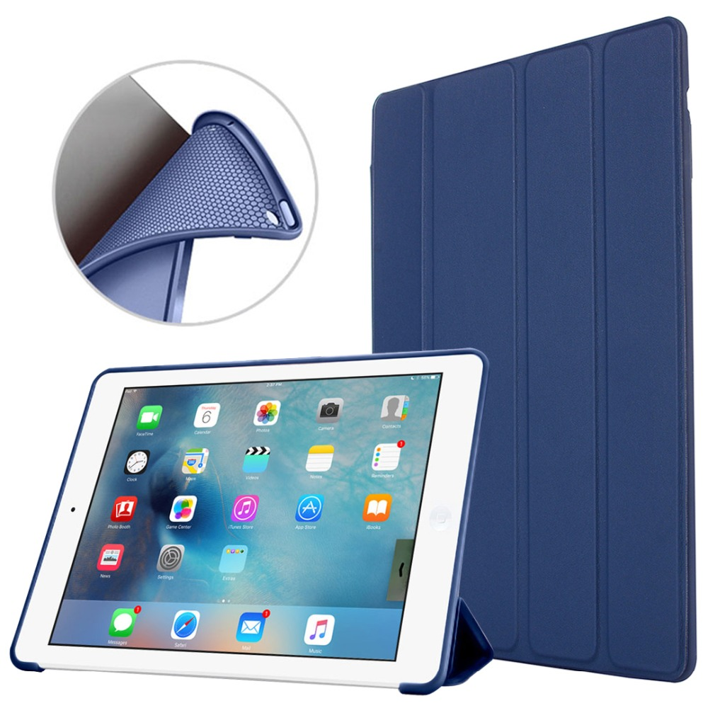 Case For iPad 2 3 4 Case Silicone Soft Back Folio Stand with Auto Sleep/Wake PU Leather Smart Cover For iPad 3 4 2 Shell tablet case for ipad 4 for ipad 3 for ipad 2 for ipad 9 7 inch pu leather smart cover stand case shell