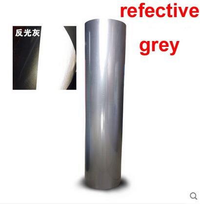 O envio gratuito de vinil reflexivo para transferência de calor 1 folha 25cm x 100cm imprensa calor t-camisa vinil plotter corte transferência calor vinil