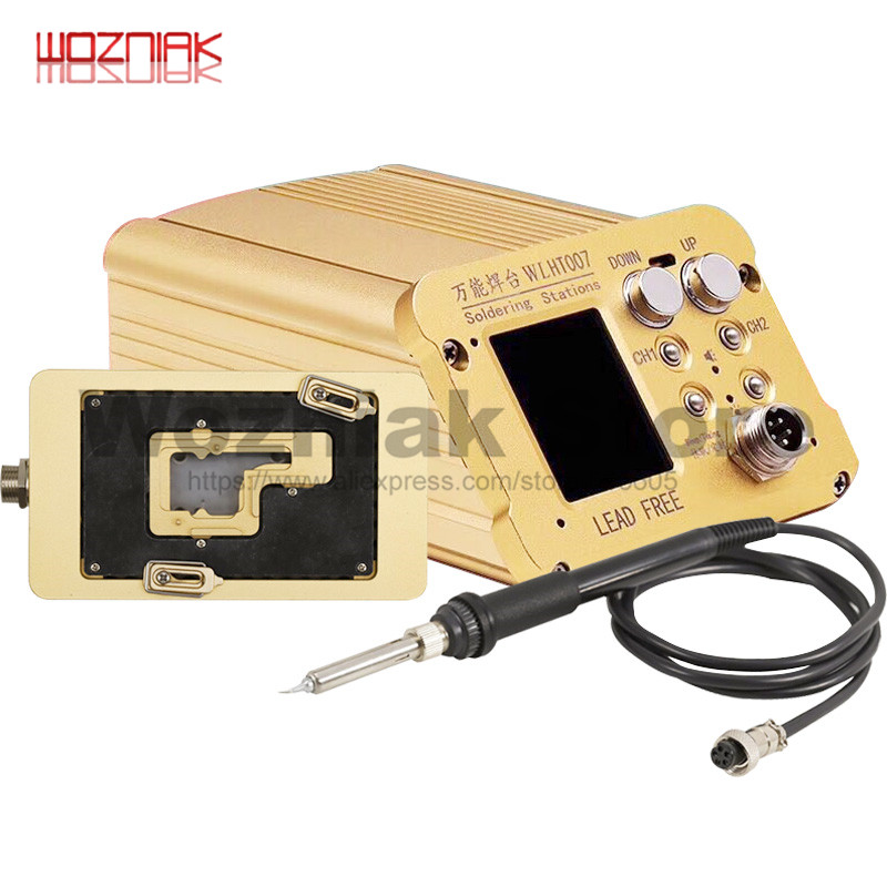 WL Mobile Phone Repair Universal Soldering Station Intelligent Tin Planting Mainboard Layered Heating Table for IPHONE