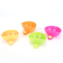 1pc Various Colors Dip Clip Capacity Ketchup Tiered Stand Creative Cup Bowls For Tomato Sauce Salt Vinegar Sugar Flavor Spices(China)