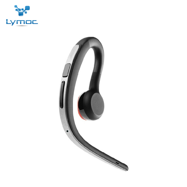 Lymoc Original Bluetooth Earphone Handsfree Ear Hook Headsets Wireless 4.1 CVC6.0 Noise Cancelling Voice Control Music For Phone