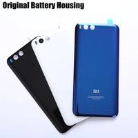 Xiaomi Mi 6 Official Original Tempered Glass Case For Xiaomi 6 Mi6 Back Battery Cover Housing