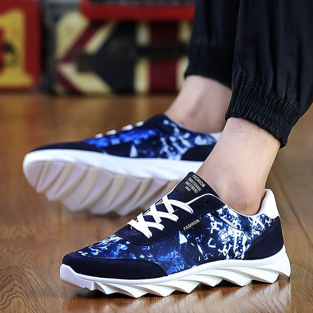 tienda online zapatos corrientes de los hombres frescos