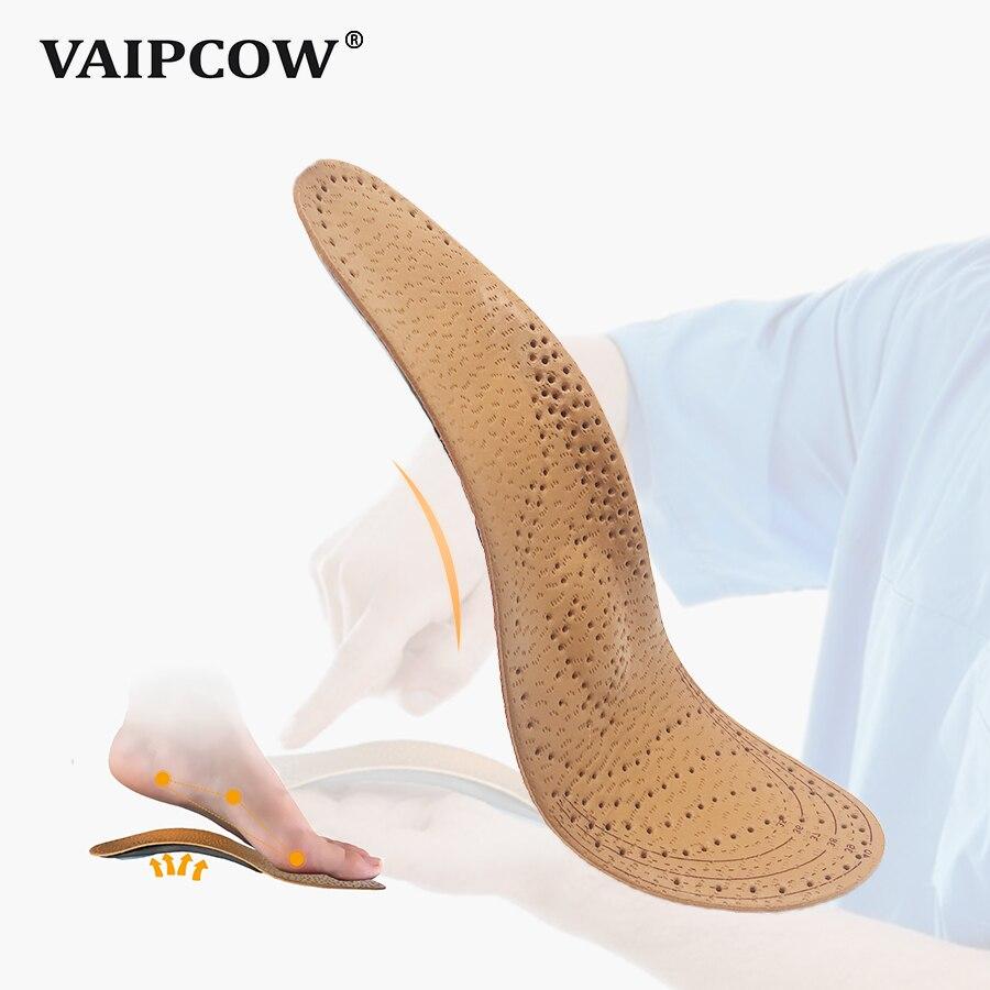 53d5ce2ce Palmilhas ortopédicas apoio do arco de couro sapatos [2019 versão  atualizada] palmilha ortopédica para a fascite plantar palmilha ortopedia pé