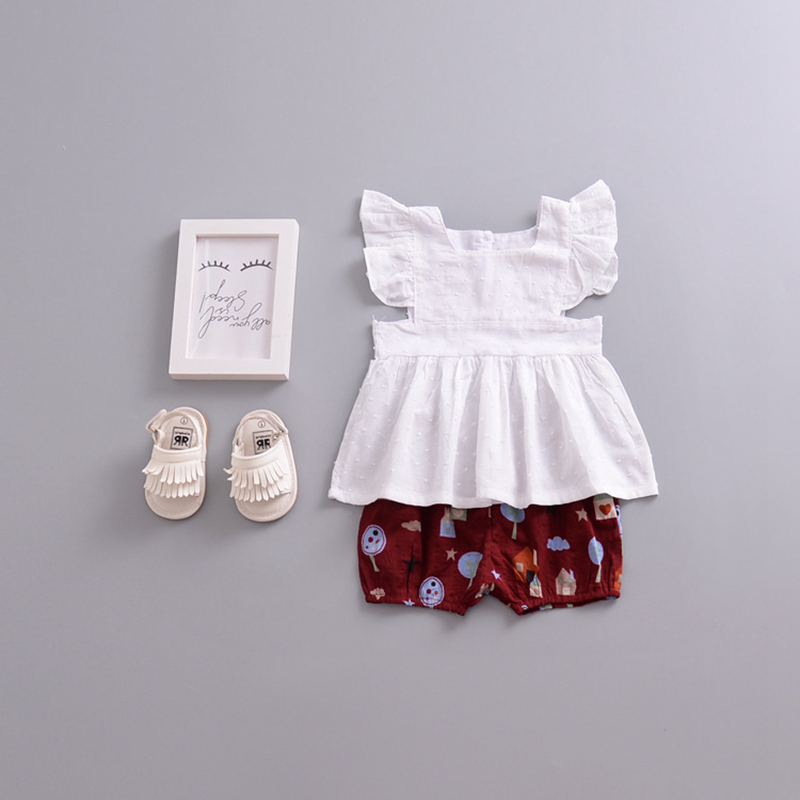 Детские шорты для девочки Милая Детская одежда для новорожденных и детей для маленьких мальчиков хлопок снизу младенческой промах трусы кр...
