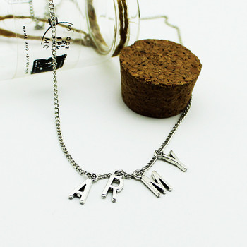 Pendant Silver Metal Necklace