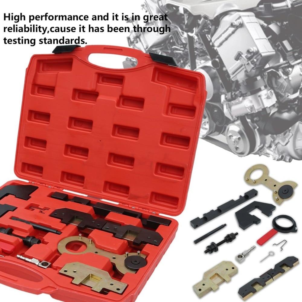 цена Camshaft Removal Locking Engine Timing Tool For BMW M40 M43 M44 M50 M52 M54 M56 Automotive Repair Scanner 11Pcs/Set в интернет-магазинах