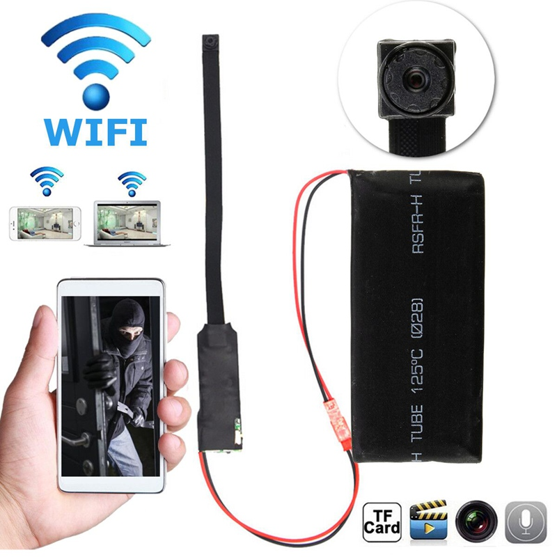 Mini Wireless WiFi Camera DIY Module Motion P2P Network Camerafor iOS Android for RC Spare Parts