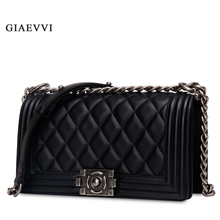 GIAEVVI women shoulder bag designer luxury handbags genuine leather handbag 2016 small bag women messenger bags ladies crossbody