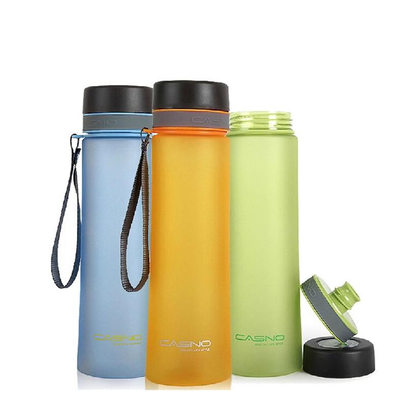 Hoomall 1000ml Water Bottle Tour Outdoor Sport School Leak Proof Seal Water bottle PC Kitchen Top Lid Direct Drinking Drinkware