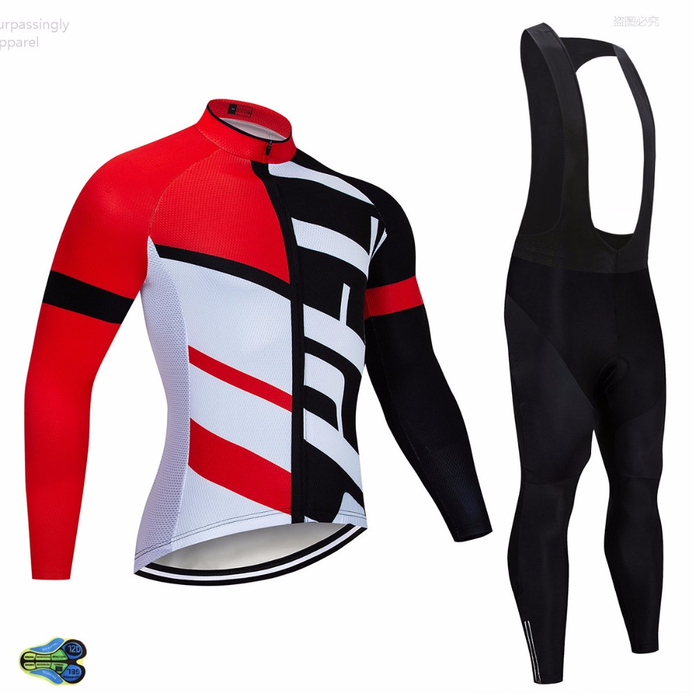 2019 Pro UCI TEAM Red Cycling Jersey 12D Bike Pants Long Sleeve Ropa Ciclismo Men Windproof Bicycling Maillot Culotte Wear2019 Pro UCI TEAM Red Cycling Jersey 12D Bike Pants Long Sleeve Ropa Ciclismo Men Windproof Bicycling Maillot Culotte Wear