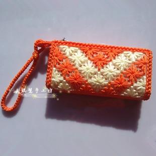 Handmade Crochet Bags : .com : Buy Handmade crochet bags portable small bag coin purse ...