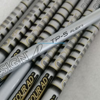 New Golf shaft TOUR AD TP-5 Graphite shaft R or S Flex 9Pcs/lot 0.355 Clubs irons shaft Free shipping