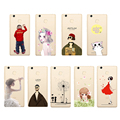 "Cute Phone Case For Xiaomi Redmi 3 Pro Prime 3S Case Cartoon Cover 5.0"" Ultrathin Silicone Cover Fundas"