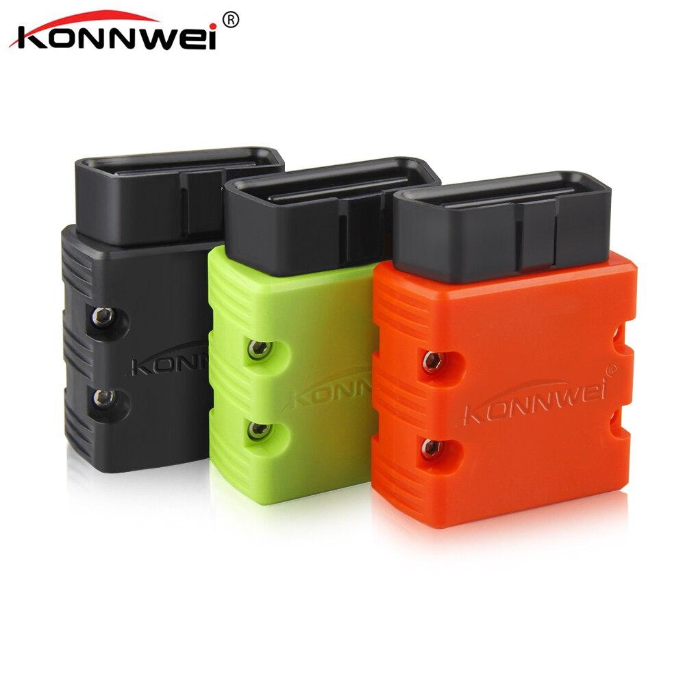 Konnwei ELM327 wifi V1.5 PIC18F25K80 OBD 2 OBD2 Scanner MINI ELM 327 OBDII KW902 Auto scanner Konnwei KW902 Elm327 OBD2 scanner