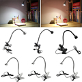 1W/3W USB Reading LED Light Clip-on Beside Bed Desk Table Lamp Book Light Flexible New