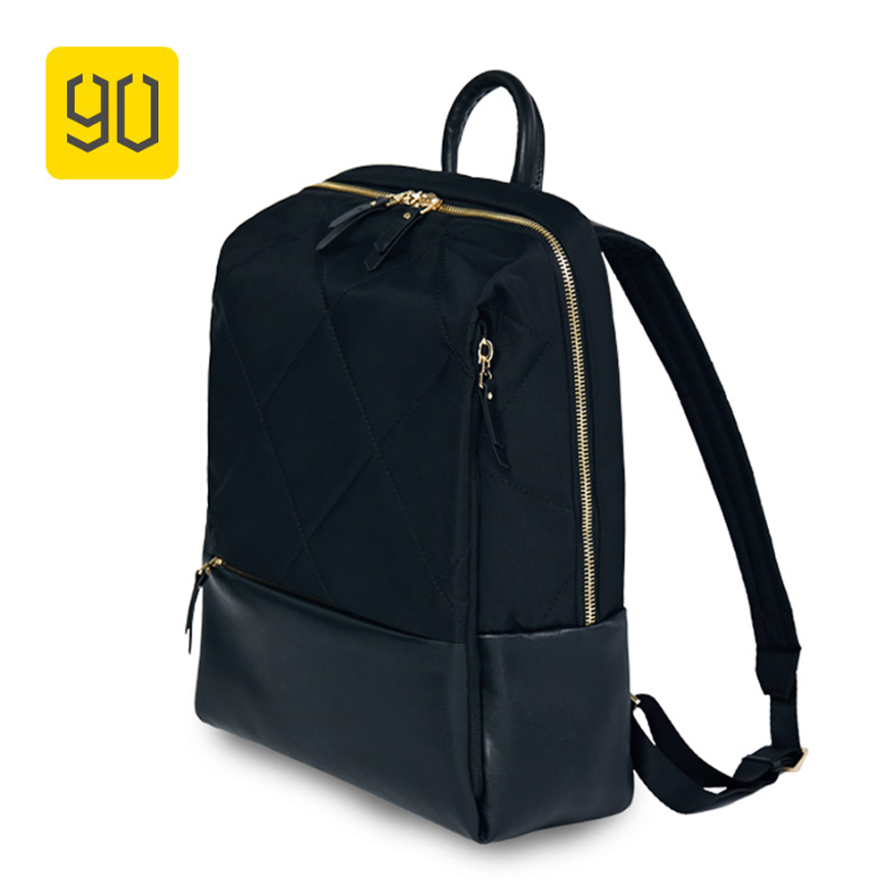 Xiaomi 90 Fun Fashion City Backpack Women Diamond Lattice Elegant Mochila For Teenage Girls College Student Casual School Bag мужская классическая рубашка fashion city 2015new