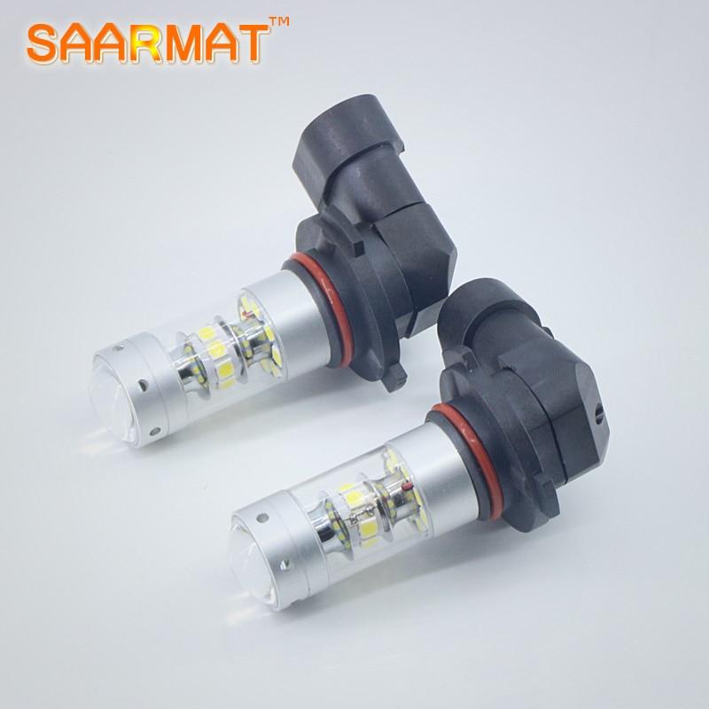2x  Plug&Play 9005 HB3 DRL 140W For Samsung chips LED car Bulbs Fog Daytime Running Light 12-24V For Mazda3 Mazda6 Mazda CX-5