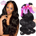 Rosa Hair Products Malaysian Virgin Hair Body Wave 4 Bundles Deal 8A Human Hair Weave Bundles Malaysian Body Wave Virgin Hair