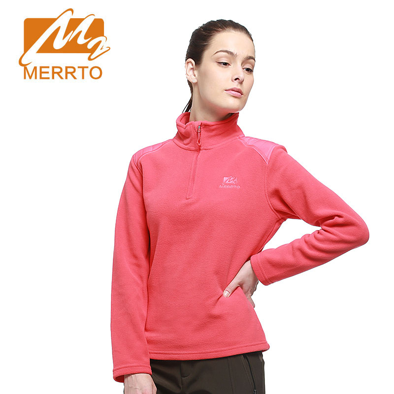 MERRTO Outdoor Jacket Women Warm Winter Bodkin Fleece Camping Hiking Jackets Antistatic Thermal Mountaineering Travel Coat rax 2015 thermal fleece hiking pants for men women winter outdoor sports warm fleece trousers fleece camping pants 54 4f089