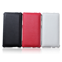 ( Factory Outlets ) Luxury PU Leather Phone Case Cover for fly trend IQ44912iq 4491 Flip Cover + Free Shipping