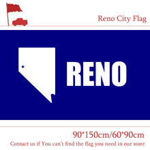 Free shipping Reno City Flag US Nevada 90*150cm 60*90cm Custom 3x5ft High-quality Outdoor Banners