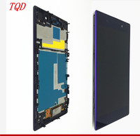 No Dead Pixel 5.0 DISPLAY for SONY Z1 Display C6903 L39H LCD For SONY Xperia Z1 LCD Display Touch Screen Digitizer