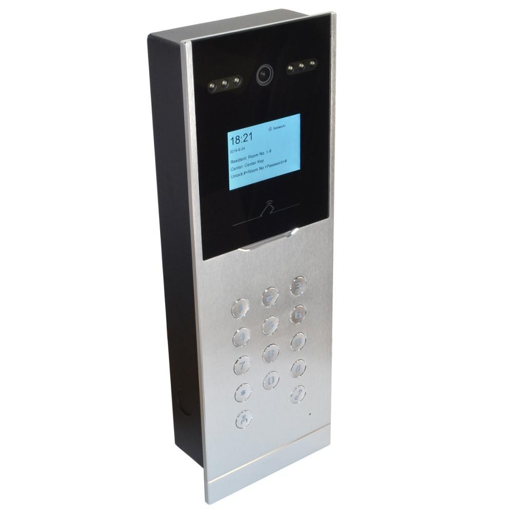 HIK Apartment Doorbell DS-KD8002-VM IP Video Intercom,IP Doorbell,IP Door Phone,RFID Card,password Unlock,P2P