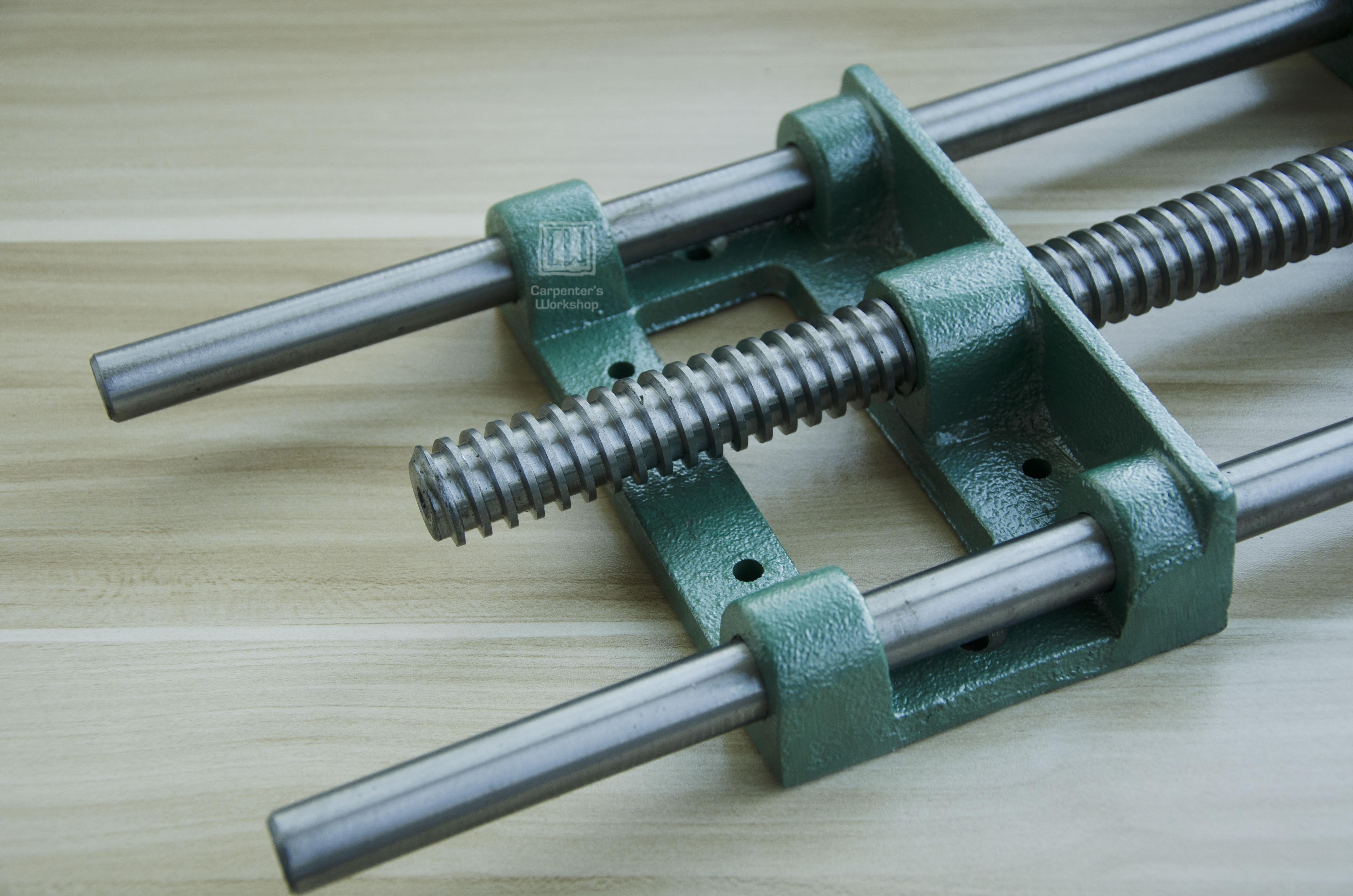 Barra de guia de madeira clipe 9 /10 Mandíbula grande parafuso de fixação da mão vice madeira - 4