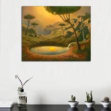 Salvador Dali Surrealism Artwork Canvas Painting Print Living Room Home Decor Modern Wall Art Oil Poster Salon Pictures