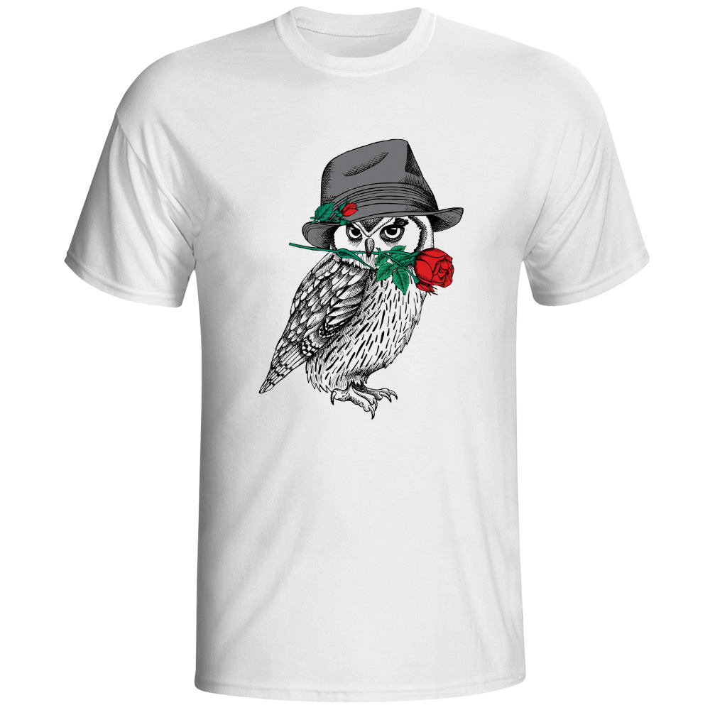 Aliexpress Com Buy Tfetters Fashion Design T Shirt Men: Mystery Owl T Shirt Design A Bird Of Minerva Creative T