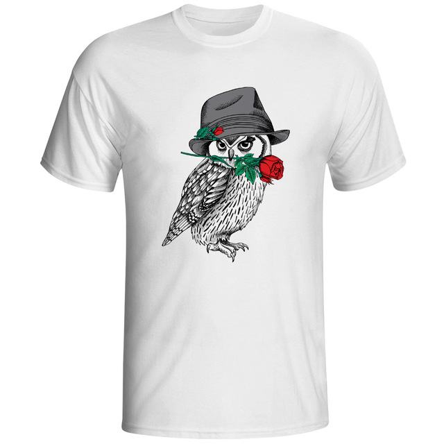 Mystery owl t shirt design a bird of minerva creative t for Best online tee shirt printing