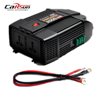 2000W Car USB Charger Power Inverter Adapter Modified Sine Wave DC 12V to AC 220V Portable Automotive Modified Sine Wave