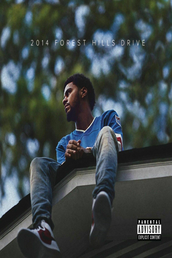 q1153 posters and prints 2014 forest hills drive album cover j cole art poster canvas painting home decor