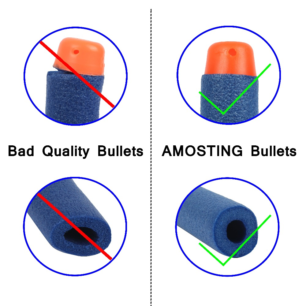 300PCS-Soft-Hollow-Hole-Head-Refill-Bullets-For-Nerf-Dart-Refill-Soft-For-Nerf-N-strike-Elite-Series-Blasters-Kid-For-Toy-Gun-2