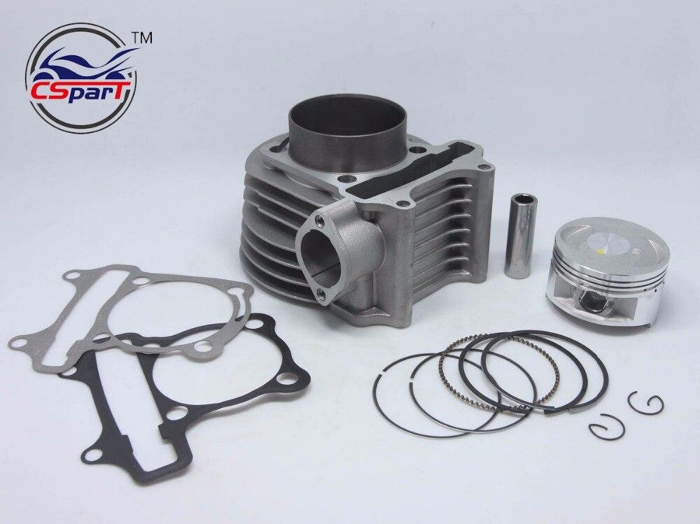 Performance 62mm Cylinder Piston Ring Kit (Big bore Kit) 175CC Baotian Qianqi   Yiying Keeway Scooter Parts feu led tmax 530