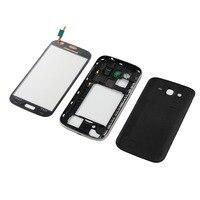 Para Samsung Galaxy Grand Neo i9060 GT I9060 9060 Tampa Traseira Da Bateria Habitação Oriente quadro + Digitador Da Tela de Toque de Vidro|Estojos de celular| |  -