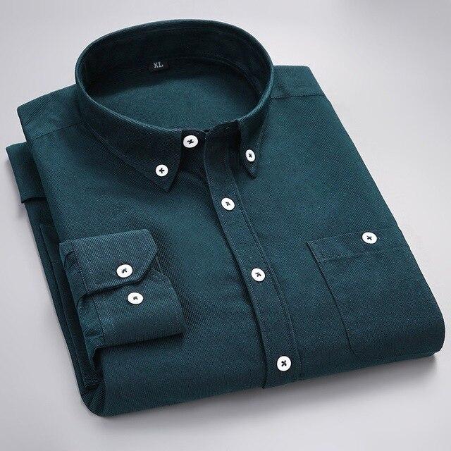 Luxury Quality Long Sleeve Men Striped Shirts Stylish Social Cotton Urban Designer Business Shirt Male China