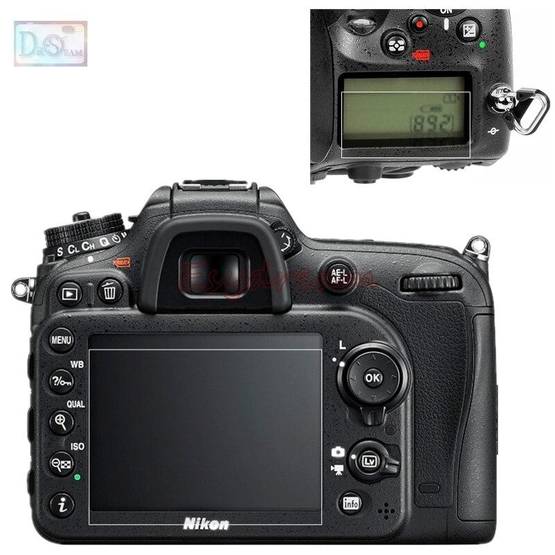 D7100 KAMERA LCD DISPLAY SCHUTZ GLAS für Nikon D610
