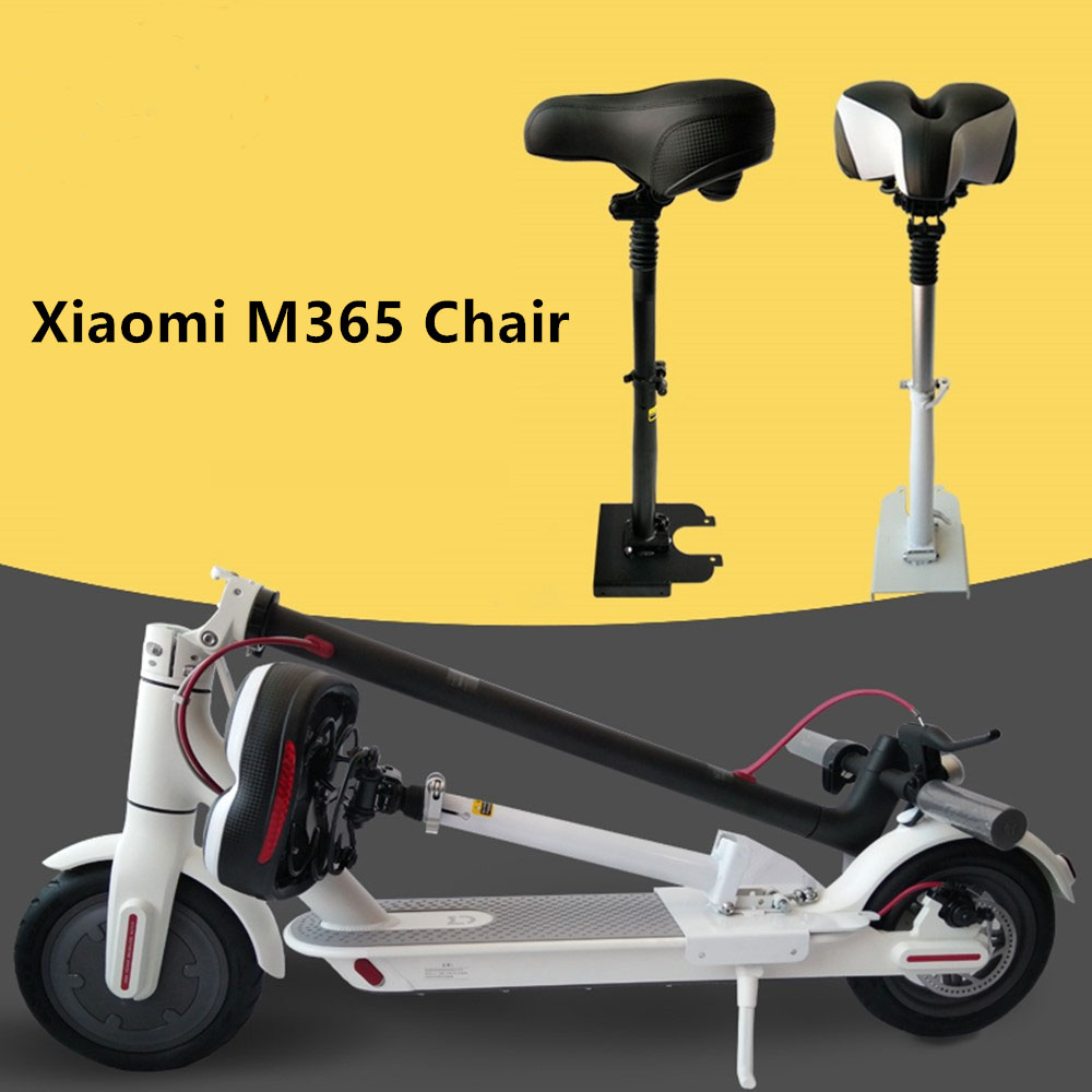 Electric Skateboard Saddle for Xiaomi Mijia M365 Scooter Foldable Shock Absorbing Seat Comfortable Folding Chair Easy Install m365 xiaomi electric scooter seat foldable saddle shock absorbing seat comfortable folding chair for xiaomi electric scooter diy