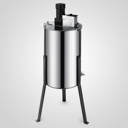 Pro elektryczny 2 rama ze stali nierdzewnej miód ekstraktor sprzęt pszczelarski bębna