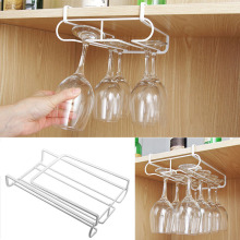 Wine Glass Rack Stainless Steel Hanging Stemware Holder Shelf for Home Bar DAG-ship ever after high пазл 500a чем 00677