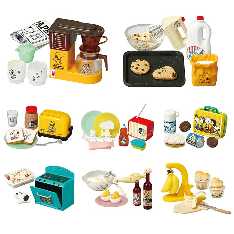 Japanese original retro kitchen breakfast cookie radio - Sylvanian families cuisine ...