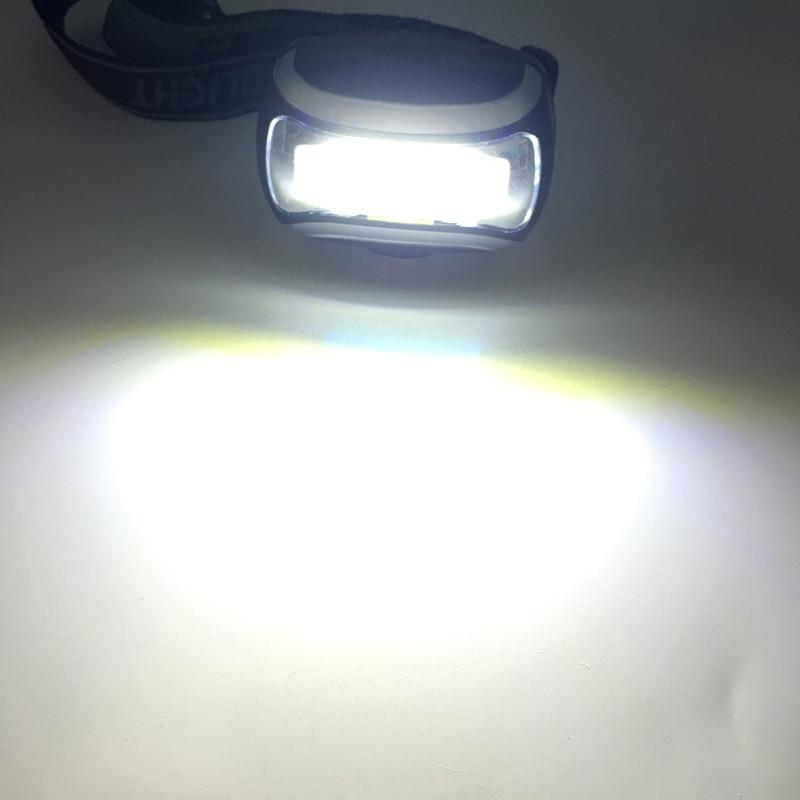 ZK20 Dropshopping Mini 600Lm COB LED Faros Faros Faros Linterna - Iluminación portatil - foto 6