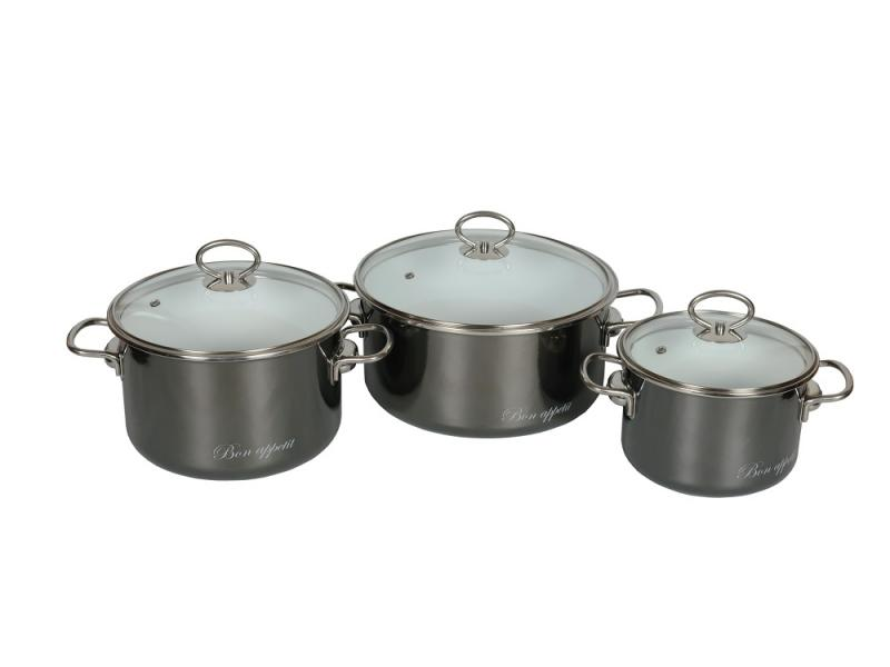 Dinner set VITROSS, Bon Appetit, 03, wet asphalt все цены