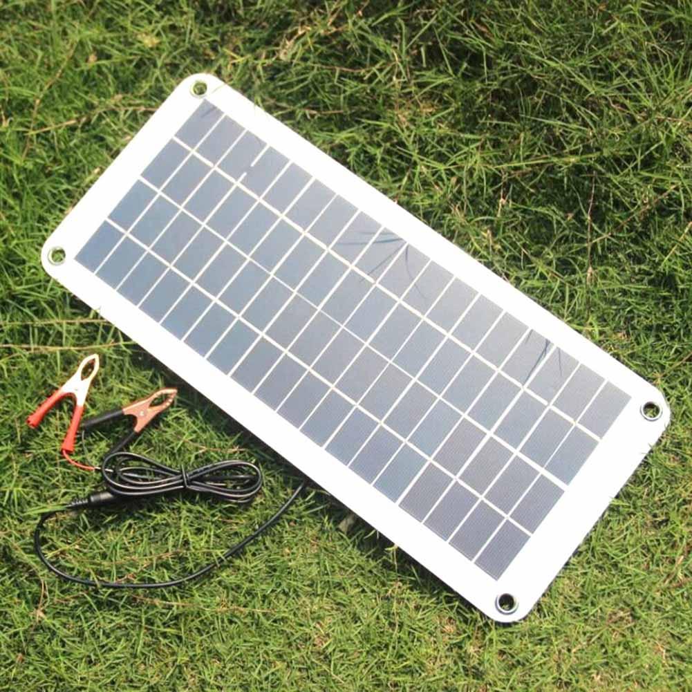 20W Solar Panel 12V to 5V Battery Charger USB for Car Boat Caravan Power Supply AI8820W Solar Panel 12V to 5V Battery Charger USB for Car Boat Caravan Power Supply AI88