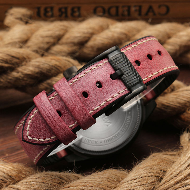Foggy dermis Watch Band 18mm 20mm 22mm 24mm Watchband Universal strap Rubber Bracelet Accessory Waterproof Belt
