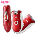 2016 kemei New 3 in 1 Women Shave Wool Device Knife Electric Shaver Wool Epilator Shaving Lady's Shaver Female body Care KM-3068